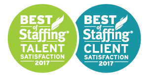 Sterling Engineering Wins Inavero's 2017 Best of Staffing Client and Talent Awards