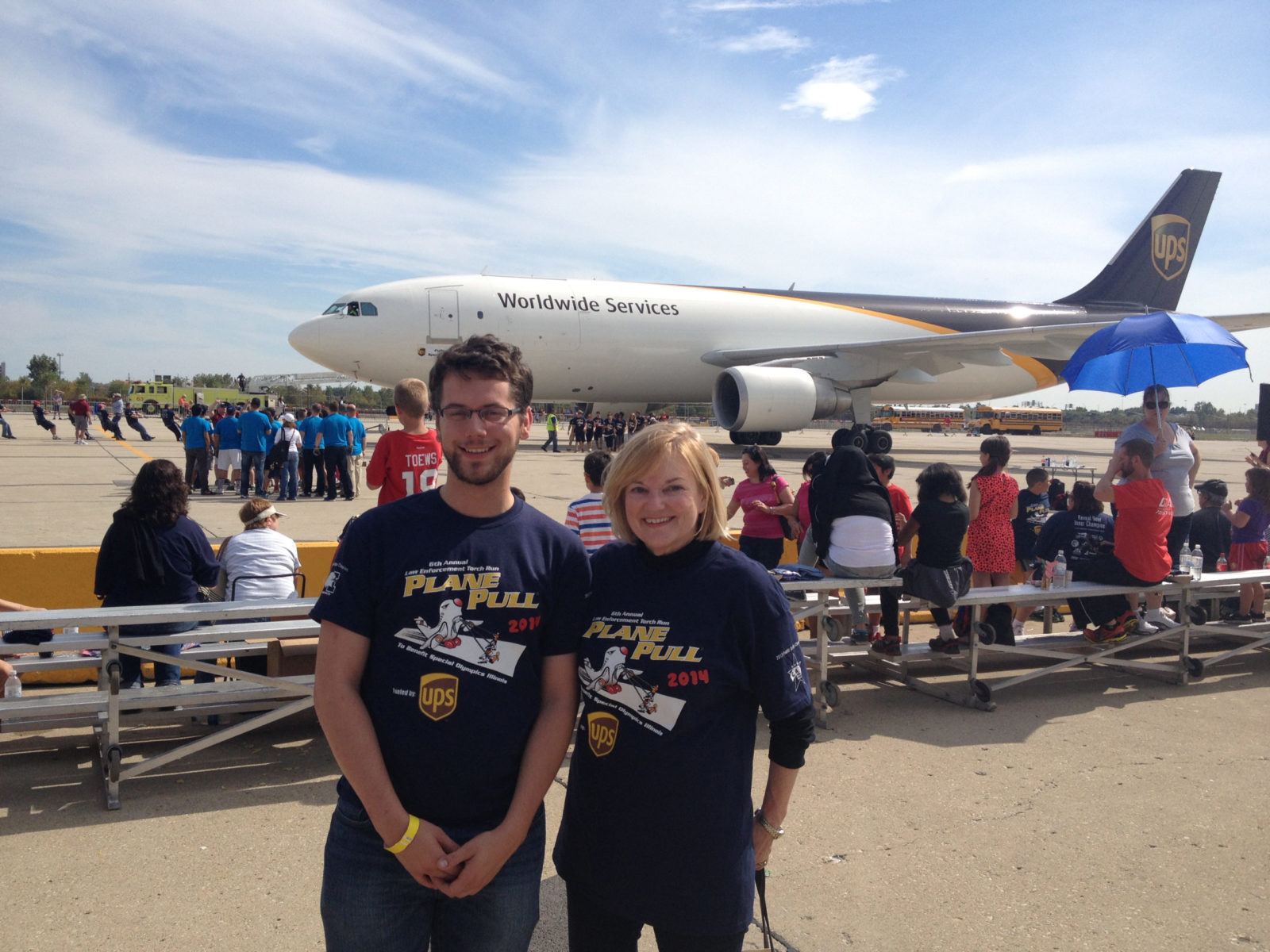 Special Olympics of Illinois 2014 Plane Pull