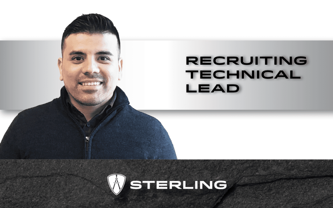 Recruiting Technical Lead at Sterling – Ric Delgado