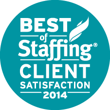 Sterling Wins Inavero's 2014 Best of Staffing Award