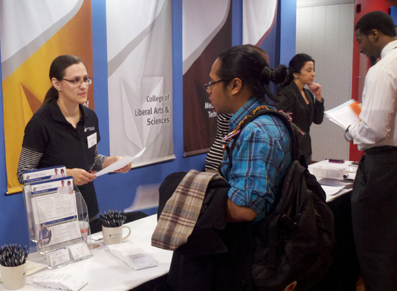 Sterling Engineering Attends DeVry University Temp to Hire Staffing Fair