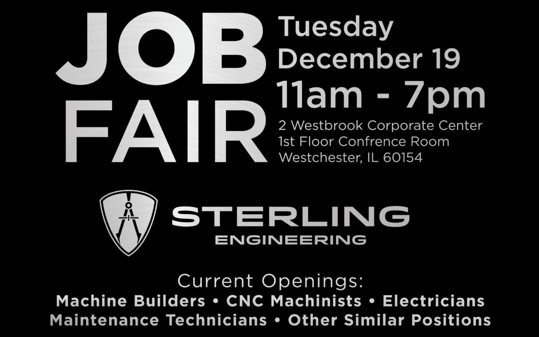 Technical Job Fair, December 19 2017