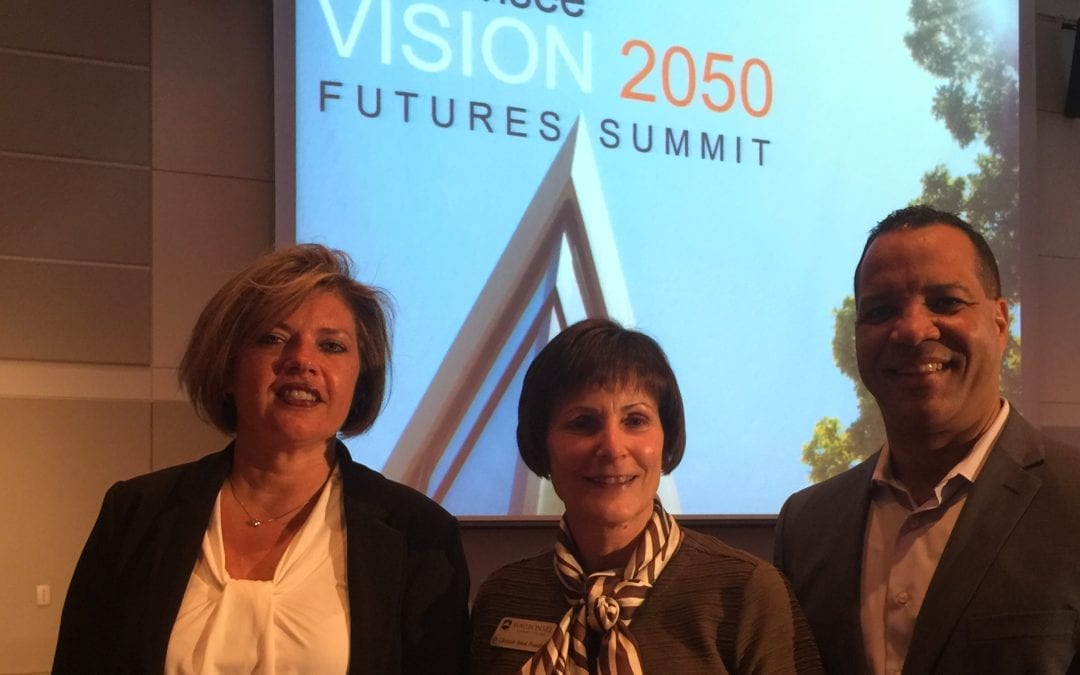 Sterling President Rama Kavaliauskas speaks at the Vision 2050 Futures Summit
