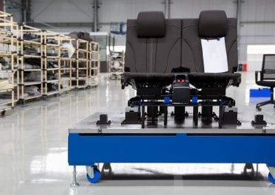 Robotic Seat Assembly Line for Electric Vehicle Manufacturer